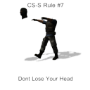 CS:S Rule No.7